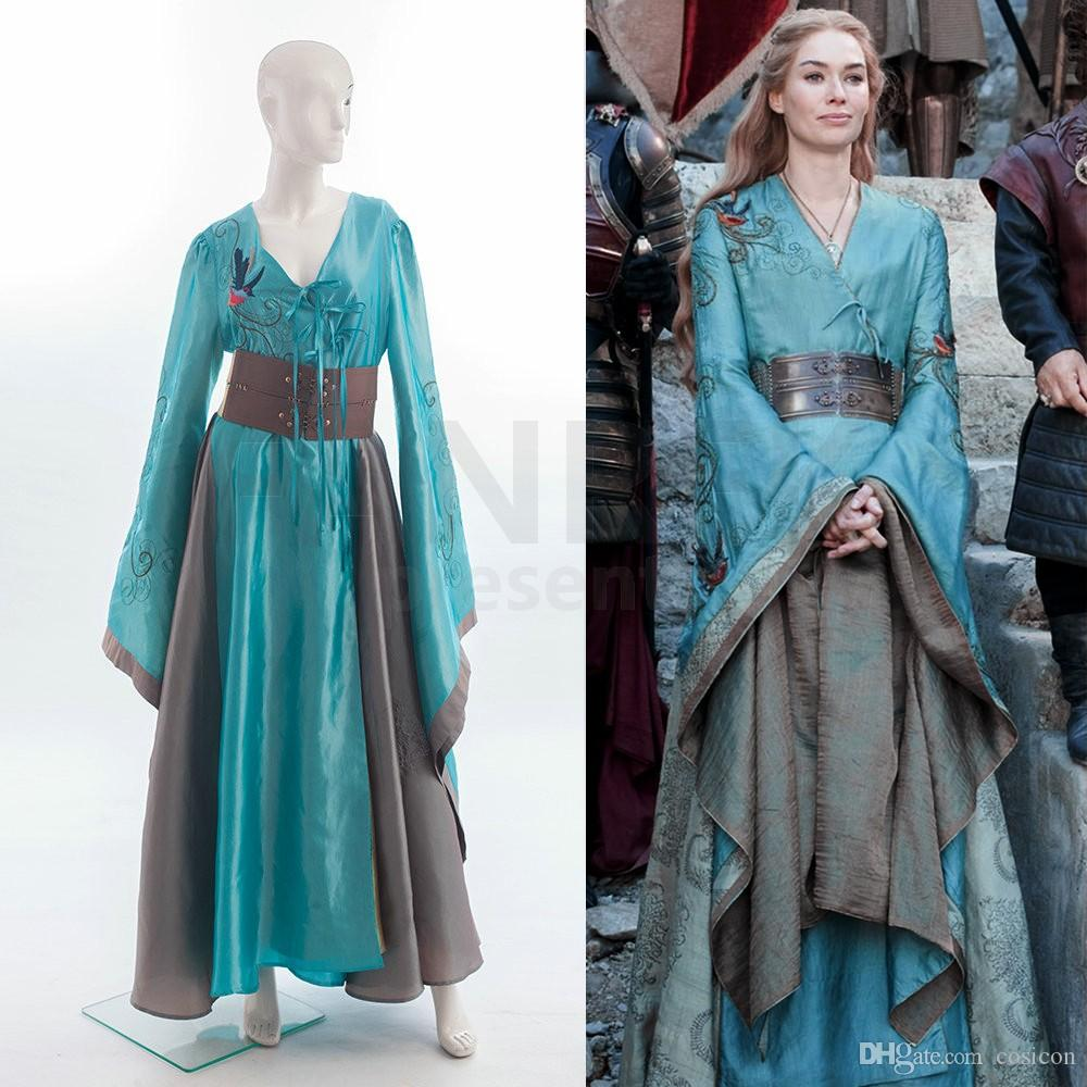 Custom Made Game Of Thrones Queen Cersei Lannister Green Exclusive ...