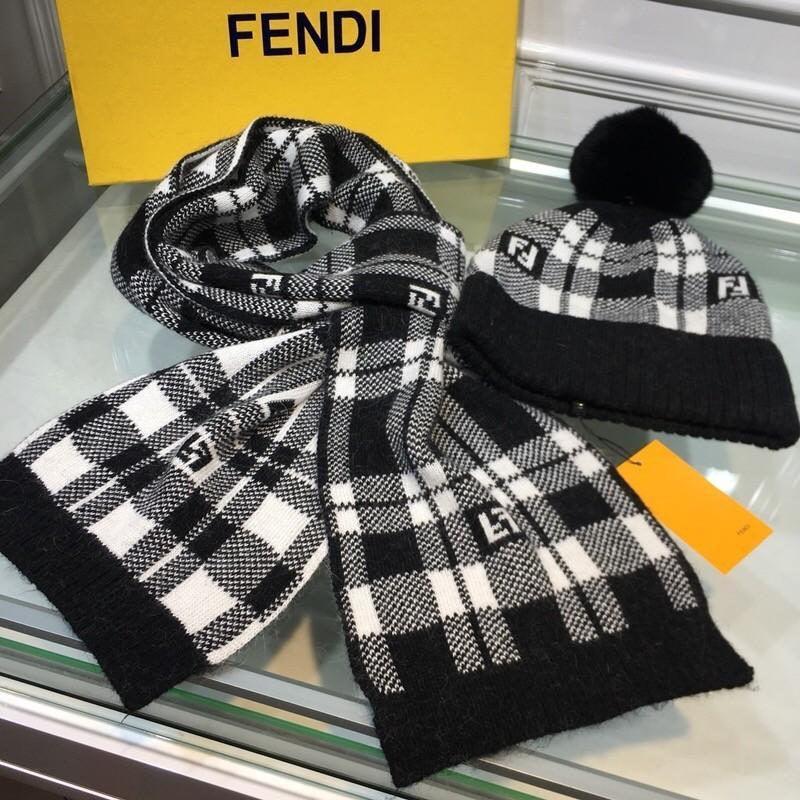 0426e012660 2018 Autumn Winter Wool Knitted Hat Scarf Set. Super Soft Rabbit Fur ...