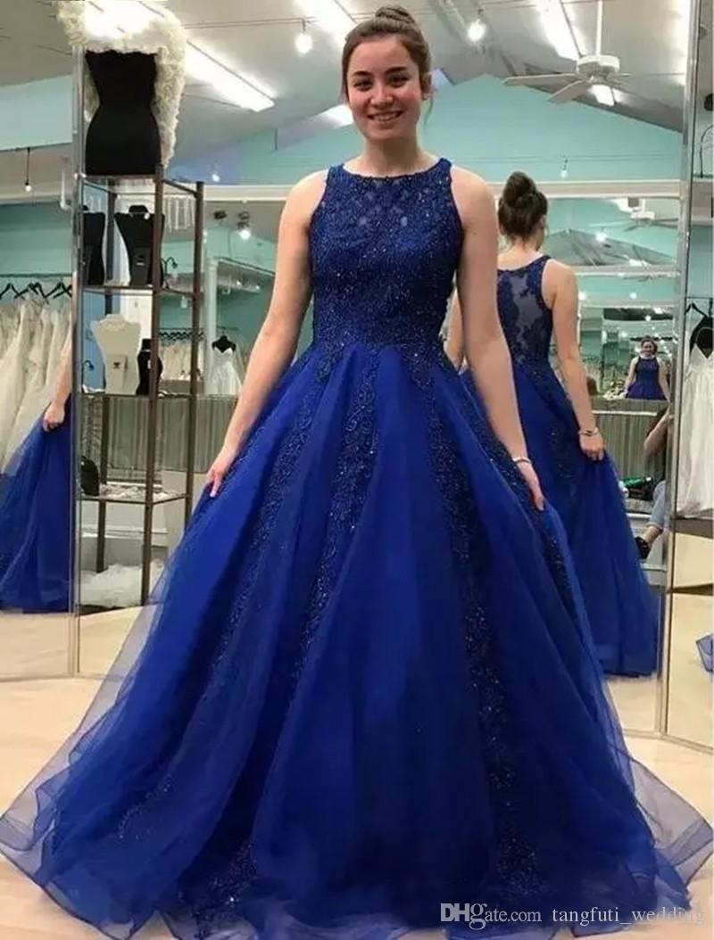 Vestido de noiva azul escuro