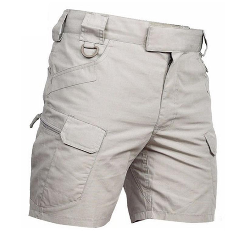 2cc63252f9 Compre Pantalón Corto De Combate Táctico Hombres Verano Al Aire Libre  Multipocket Algodón Transpirable Cinco Minutos Pantalones Cortos Pantalones  De Chándal ...