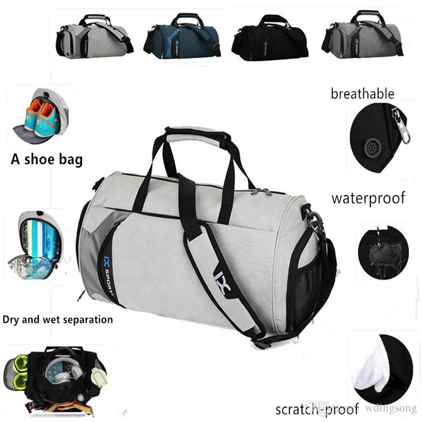 66197be66b03 Fashion Duffel Bags Waterproof Oxford Cloth Wet Separation Bag Waterproof  Sport Outdoor Packs Holiday And Leisure Travel Packages Briefcases For Men  Travel ...