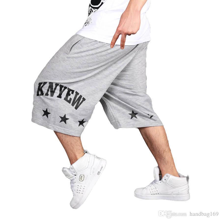 Cortos Hop Carga Larga Harajuku Hip El Hombres Ocasionales De Más Pantalones Verano Hombre Tamaño Para OuZPXik