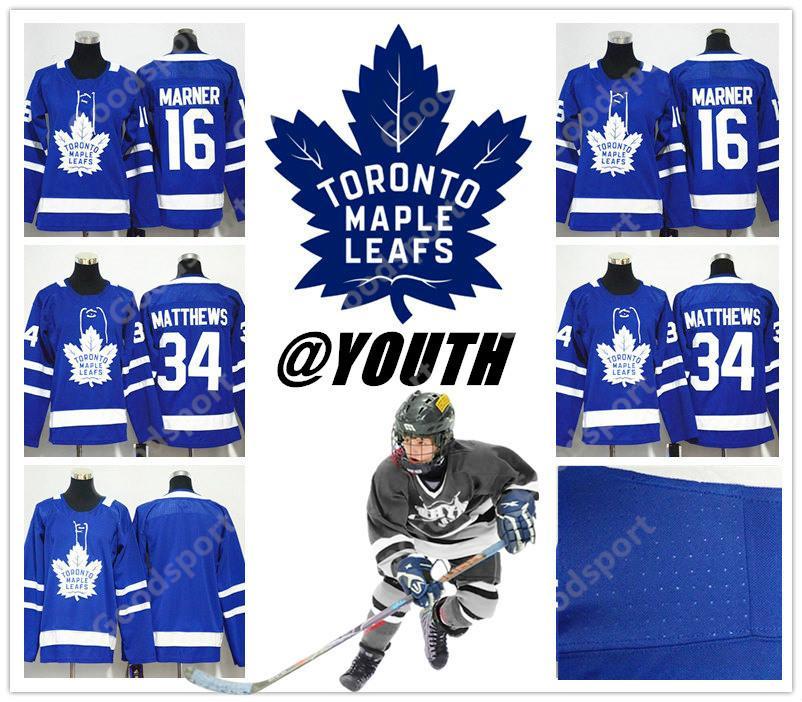 YOUTH 2018 NEW BRAND Toronto Maple Leafs Stitched 16 Mitch Marner Jersey 34  Austen Matthews ICE Hockey 29 Nylander 31 MARLEAU 19 New Jersey National  League ... 17bb2ef718105