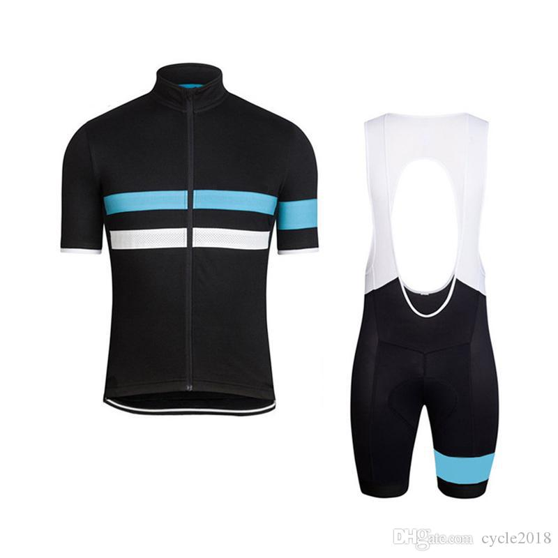 Rapha Tour De France Cycling Jersey Wear Bib Shorts Set Ropa ... d2ca6c79d