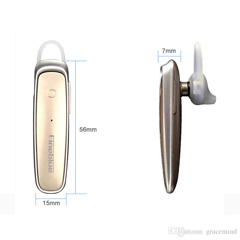 Fineblue Bluetooth 4.0 Wireless Stereo Headset Earphones With Mic For Iphone Android Hands Free Music Talk headphones
