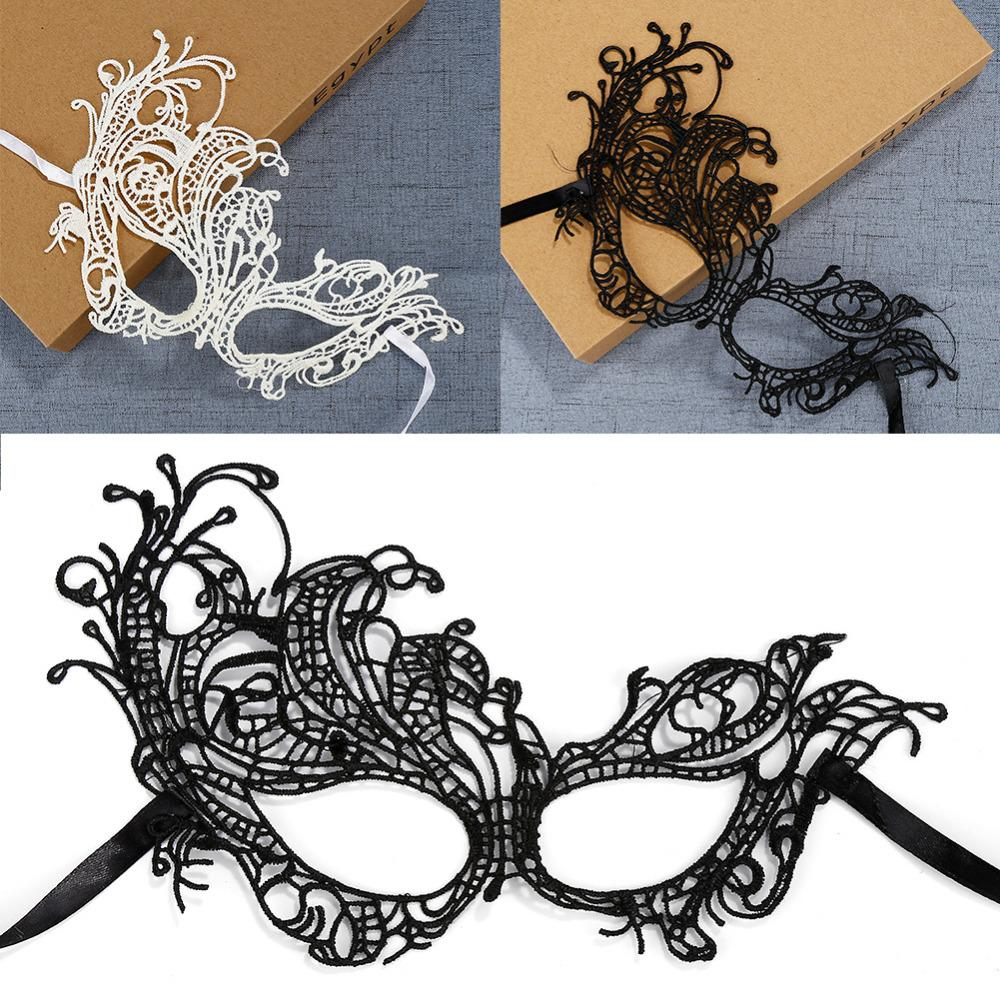 1PCS Hot Sales Sexy Lady Lace Mask Cutout Eye Mask For Masquerade Party Fancy Dress Costume / Halloween Party Fancy
