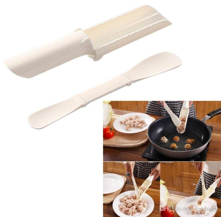 Meatballs Producer Mold Balls Spoon Meat Food Processing Machine Mould Kitchen Gadgets Burger Press Hamburger Cooking Tool