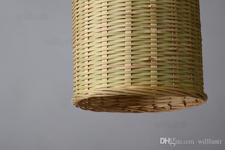 handgemachte natürliche bambus pendelleuchte dinning wohnzimmer aussetzung licht handgemachte wicker beleuchtung hotel halle restaurant bar hängen beleuchtung