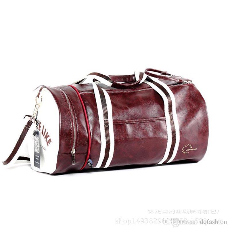 fb749ccf26 2018 New Direct Men S Shoulder Messenger Travel Sports Bag Man Fitness Bag  Women Portable Training Package Waterproof Rucksack Girls Backpacks For  School ...