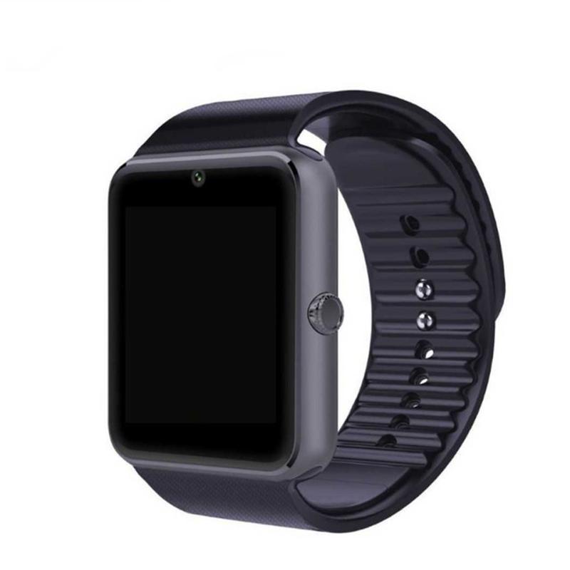 4e927ce17805 Умные Часы Купить В Минске QAQFIT Bluetooth Smart Watch GT08 Для Iphone IOS  Android Телефон Наручные Часы Поддержка Синхронизации Смарт Часы Sim Карты  ПК ...