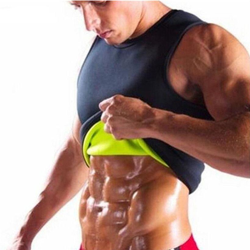 576b891f04c0d5 2019 Hot Shapers Slimming Tanks Tops Neoprene Shaper Mens Slimming Vest  Body Shaper Corset Waist Trainer Belt Super Stretch Shapewear From  Zehanclothing