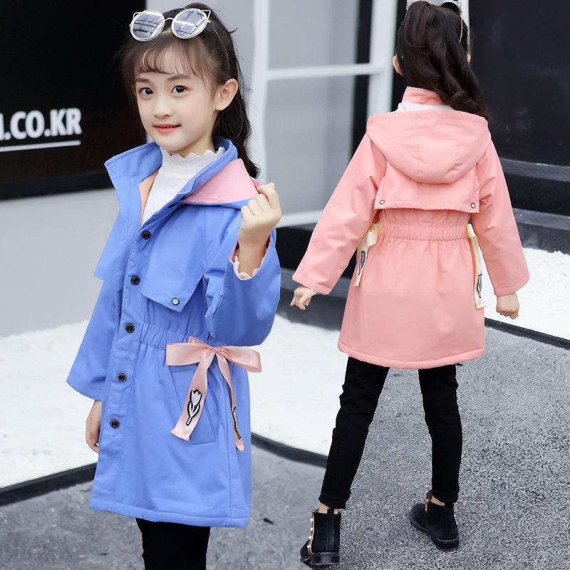 Fashion Acquista 2018 New Trench Bambini Vestiti Cappotti wA0p1qxA