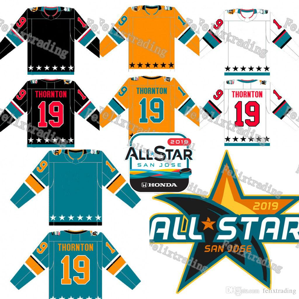 2019 2019 All Star Hockey Jerseys Custom Any Name And Number All