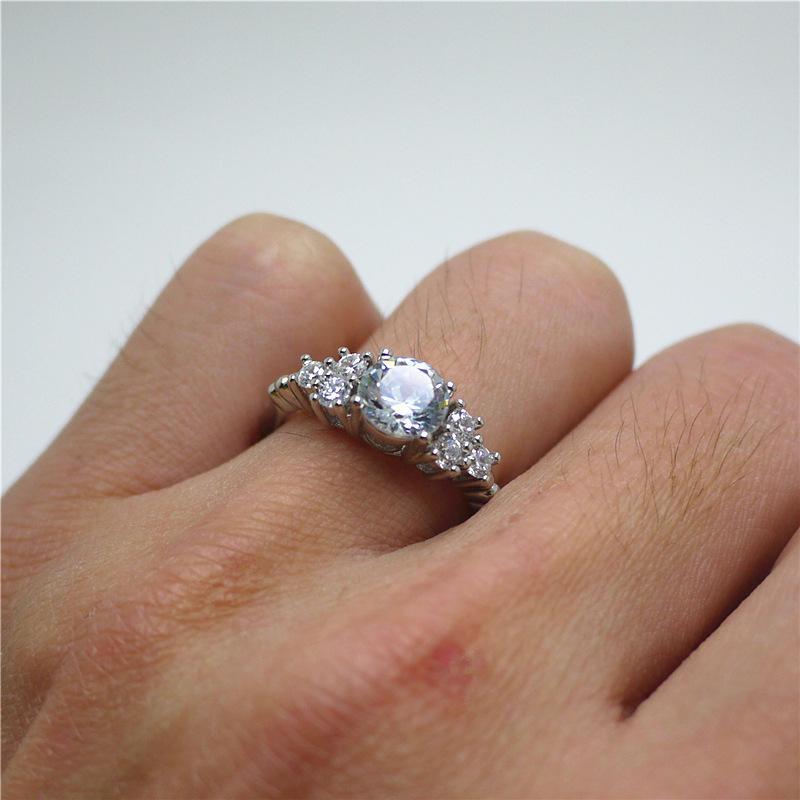 Grosshandel Verlobungsringe Ehering Fur Frauen Ornamente Diamant Ring