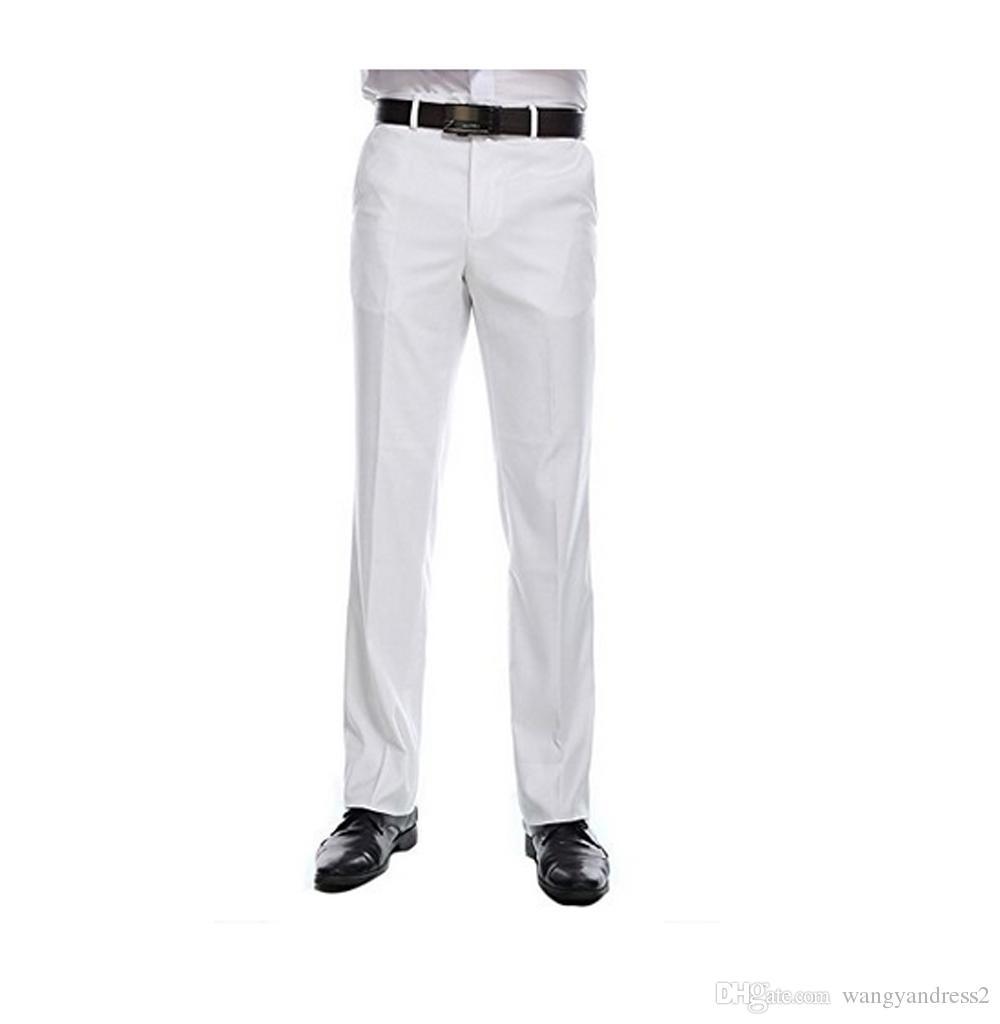 a2ac0e4da6 2018 Best seller Pantaloni da abito su misura Plain-Front Pants Pantaloni  da uomo Completi pantaloni separati da uomo