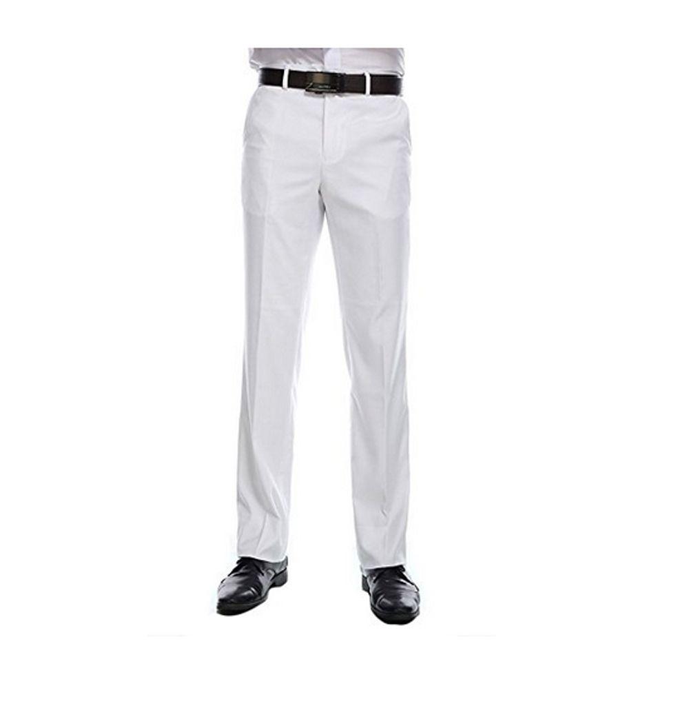 2018 Best Selling Custom Made Dress Pants Plain Front Pants Men S
