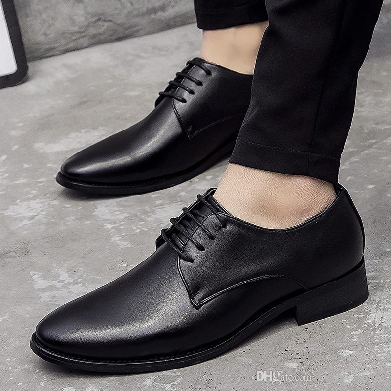 ee869ddc8553d Compre Marca Italiana Zapatos Para Hombre Diseñador Casual Zapatos Formales Hombres  Zapatos De Boda Hombres Zapatos De Hombre Erkek Ayakkabi Sapato ...