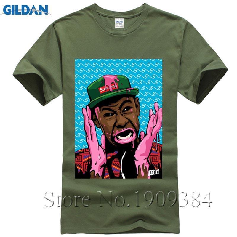 694433b018415f Mens T Shirts Fashion 2017 Odd Future Ofwgkta T Shirt Tyler T Shirt The  Creator Earl Drawing Odd Future Shirts Men Clothing Design And Order T  Shirts Gag T ...