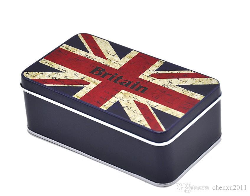 New type rice flag, pattern cigarette case, meter shaped tinplate, cigarette case, thin cigarette case.