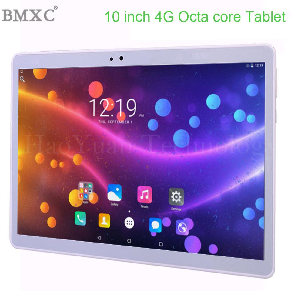 DHL Free Shipping 10 pollici Tablet PC 3G 4G Lte Compresse Octa core 8.0 MP Android 7.0 GPS wifi 1920 * 1200 HD IPS 4G Tablet PC 10.1