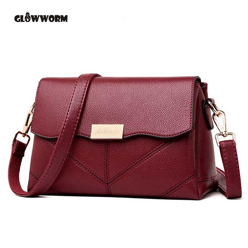 e73f3a452d78 Genuine Leather Shoulder Bags Female Luxury Handbags Women Bags Designer  2018 High Quality Ladies Brand Top-handle Party Purse Online with   79.98 Piece on ...