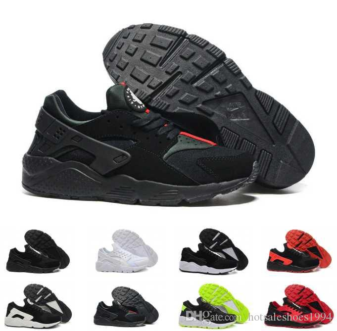 ... best acquista nike air huarache ultra huaraches allingrosso huarache  ultra run scarpe triple bianco nero uomo aa1af0a45ba