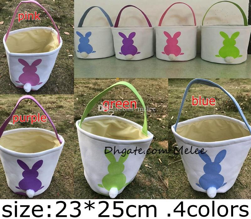 INS мешковины Пасхальный Кролик корзины DIY Кролик сумки Кролик сумка для хранения джут кроличьи уши корзина Пасхальный подарок сумка кроличьи уши положить пасхальные яйца