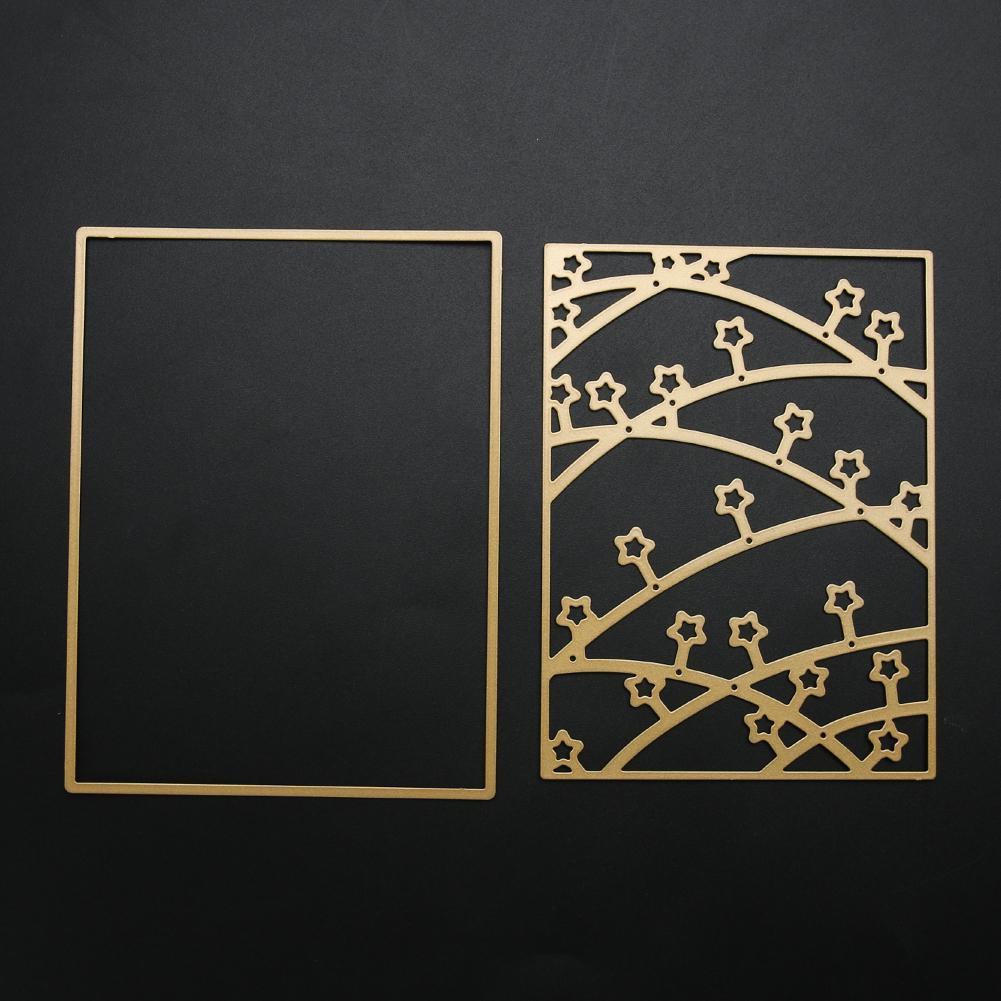Scrapbooking Sky Stars Cutting Dies Metal Stencil DIY Photo Album Christmas Wedding Decoration Embossing Dies Cutter