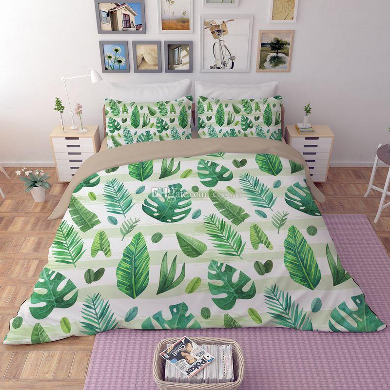 Bed Cover Set CHEAPEST H043 Print Duvet Bedding Cover Pillow Cases Quilt Cover Bed Set Queen King Sizes Bedding Set