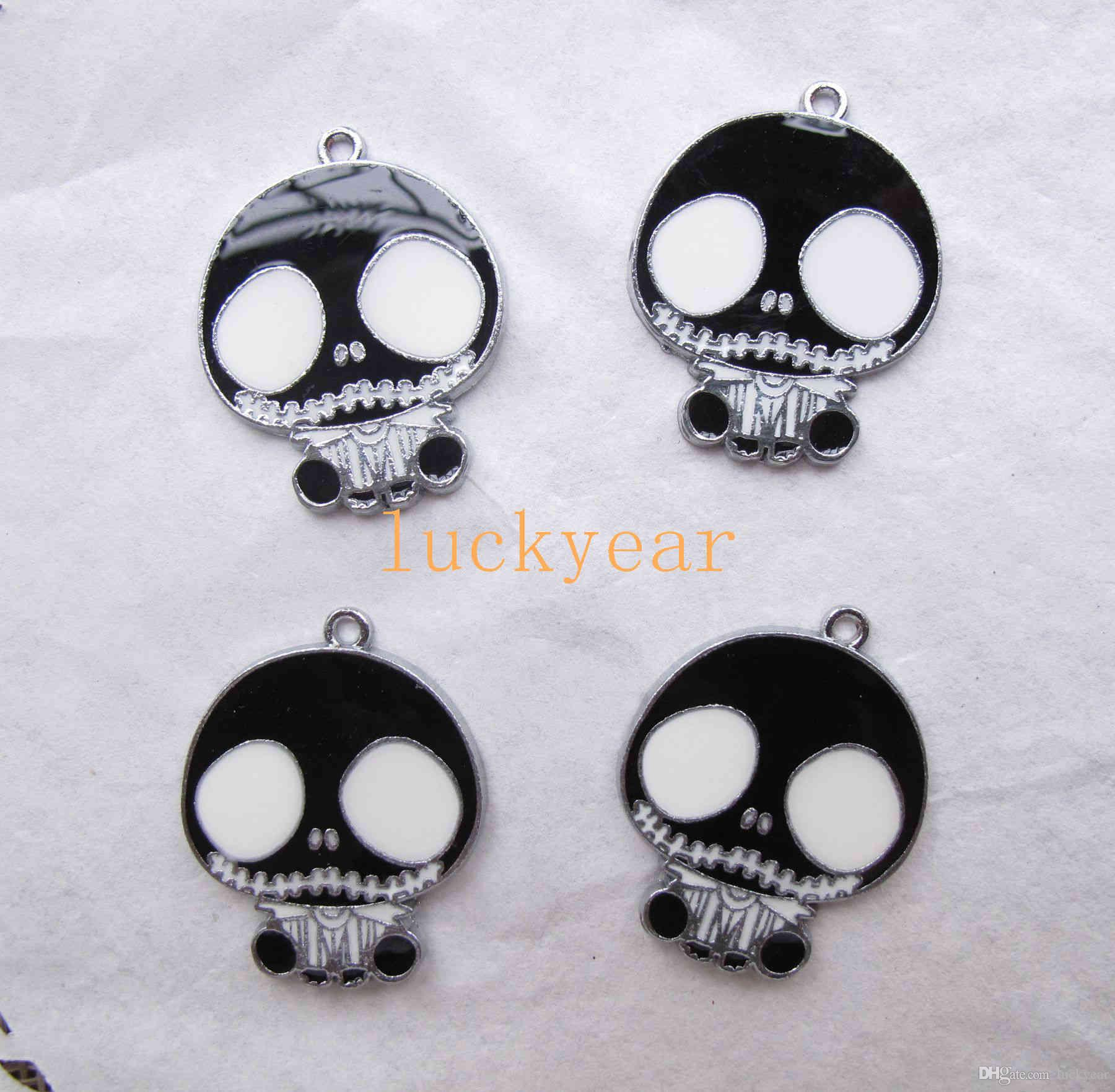 New The Nightmare Before Christmas DIY Jewelry Making Metal Charm Pendant Jewelry Making Party Gifts B68