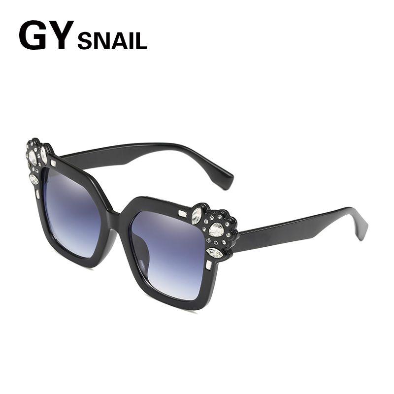 0e101d18a8 GY SNAIL Luxury Sunglasses Female Square Sunglass Women Steampunk Coating  Glasses Vintage Retro Lentes Oculos Of Ladies Goggles Custom Sunglasses  Heart ...