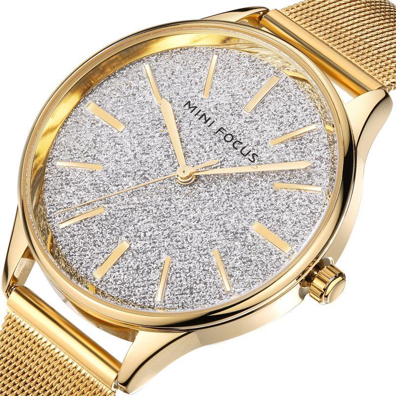 Compre 2018 MINI FOCUS Relojes De Cuarzo De Moda Mujeres Diamantes Reloj De  Pulsera De Acero Inoxidable Top Luxury Brand Ladies Dress Reloj Mujer Nuevo  A ... faa3bacb7107