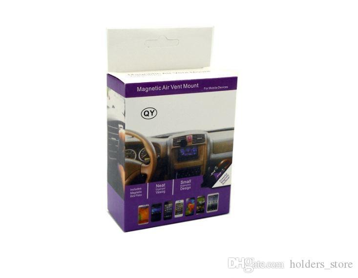 범용 에어 벤트 자기 전화 자동차 마운트 홀더 빠른 스위프트 스냅 기술 아이폰 6 7 플러스 삼성 미니 태블릿 6 컬러