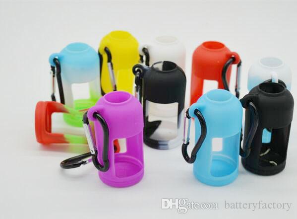 Custodia in silicone bottiglie di liquido E Custodia morbida Custodia protettiva Vetrina colorata Misura E Bottiglia succo 30 ML Custodia in gomma siliconica DHL