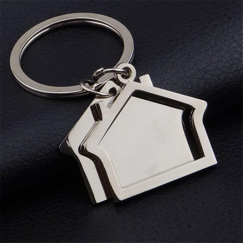 Zinc Alloy House Shaped Keychains Novelty Keyrings Gifts For Promotion  House Key Ring Keychain Breathalyzer Custom Keychain From Heathere 820f18c87405