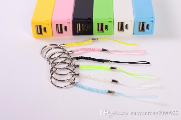 Chargeur de banque d'alimentation mobile 2600mAh Parfum III Alimentation batterie de secours portable externe USB chargeurs de banques pour HTC Samsung