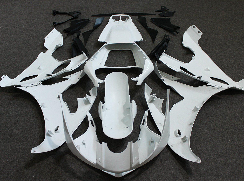 ALLGT Motorcycle Full Fairing Kit Bodywork For Yamaha YZF R6 2003 2004 & YZF R6S 2006 2007 2008 2009