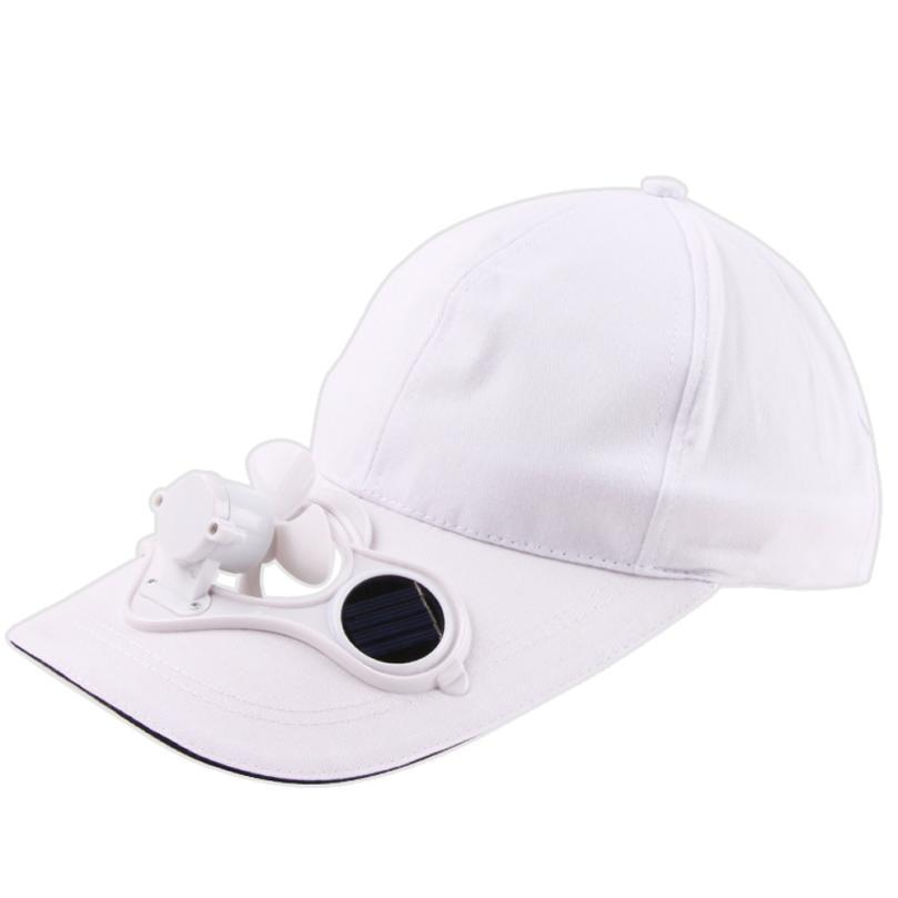 Male Baseball Cap Camping Hiking Peaked Cap With Solar Powered Fan Baseball  Hat Cooling Fan Caps Adjustable Outdoor A8 Fitted Hats Baseball Hats From  ... 395a393b63d