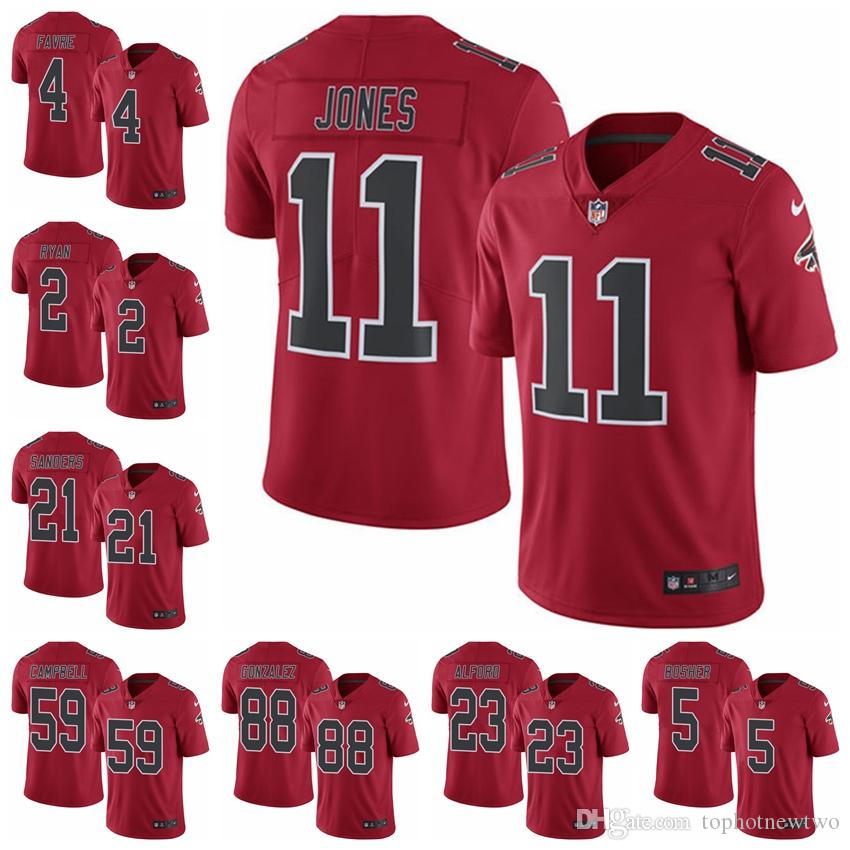 Atlanta Limited Football Jersey Falcons Red Rush Vapor Untouchable 2 Matt  Ryan 11 Julio Jones 18 Ridley 21 Deion Sanders Online with  29.59 Piece on  ... 430cef3c9