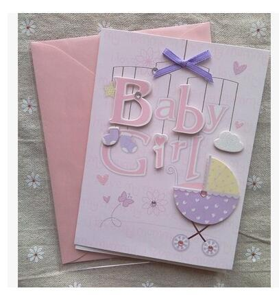 Baby Boy And Girl Invitation Cards Wedding Decoration Birthday Party Invitations Greeting Card Envelope Invite Free Animated