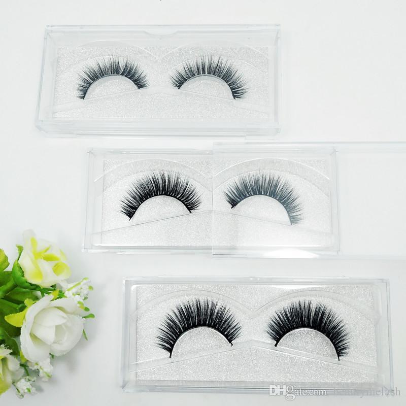 SEASHINE Beauty mink eyelashes 3D MINK False Eyelashes Messy Cross Dramatic Fake Eye Lashes Professional Makeup Lashes Makeup P16 Style Lash