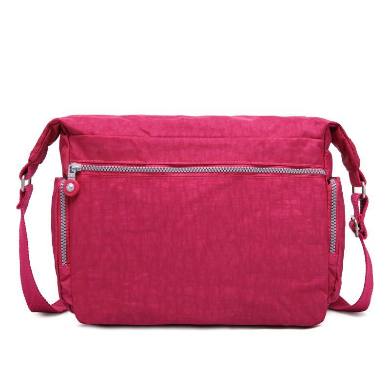 TEGAOTE Messenger Bags Women Crossbody Shoulder Bag Lady Bolsa Feminina Mujer Nylon Waterproof Big Solid Beach Travel Bag Female