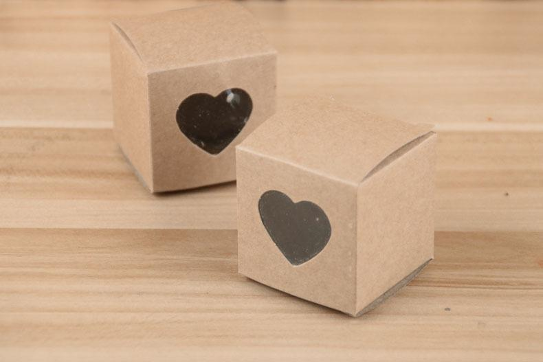 Square Gift Boxes Hollow Love Heart Wedding Supplies Favor Holders Candy Boxes Baby Shower Party Chocolate Cake Boxes Bags