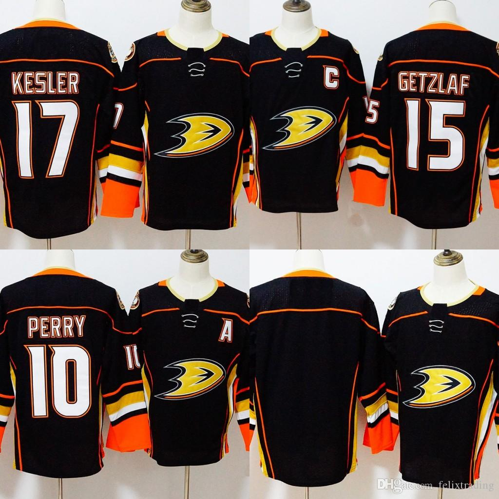 on sale 2141d c7a31 15 Ryan Getzlaf Jersey 2017-2018 Season Anaheim Ducks 10 Corey Perry 17  Ryan Kesler Hockey Jerseys Men All Stitched New Jersey