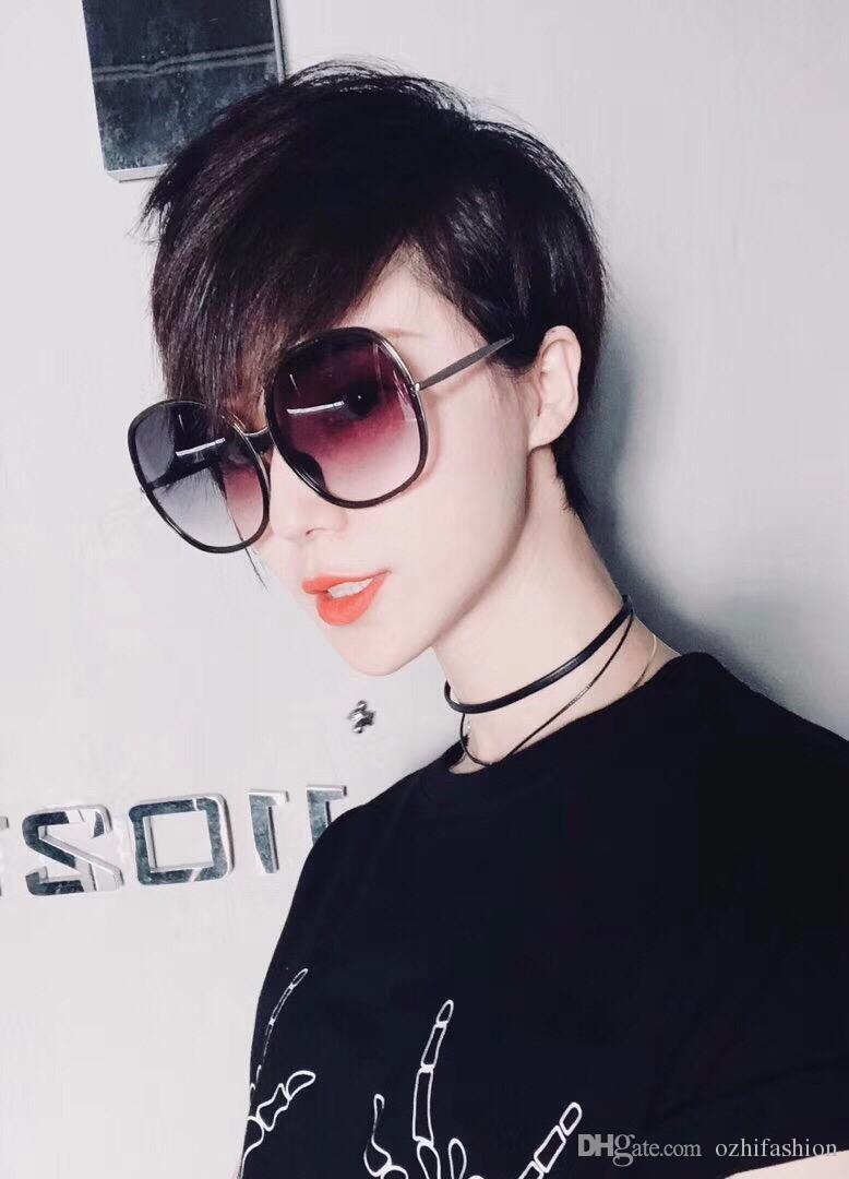 1cd9d30a54bee Compre Chloe Eyewear Mulheres Acessórios 2018 Marca Design De Moda  Polarizada Óculos De Sol Das Mulheres Retro Vintage Rodada Óculos De Sol  UV400 Shades ...