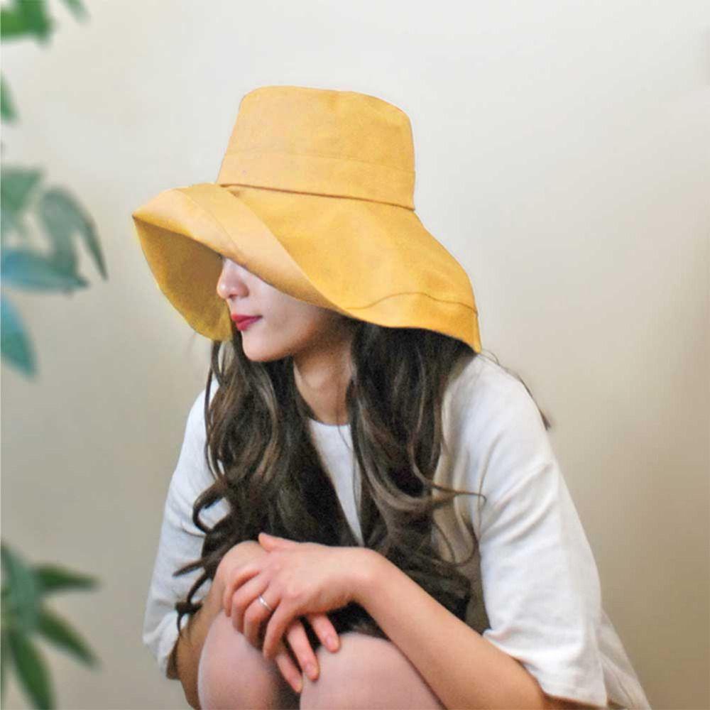 f92cddd57f3 2018 Summer Korean Style Fashion Women Girl Sun Hat Simple Lady ...
