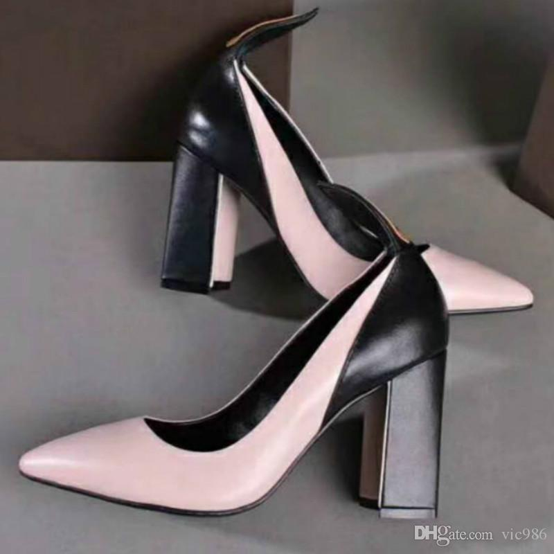 025f5e5b5ea 2019 Top Comfortable High Heels Black Popular Women S High Heels Nightclub  Shoes High Quality Factory Direct Sales From Vic986