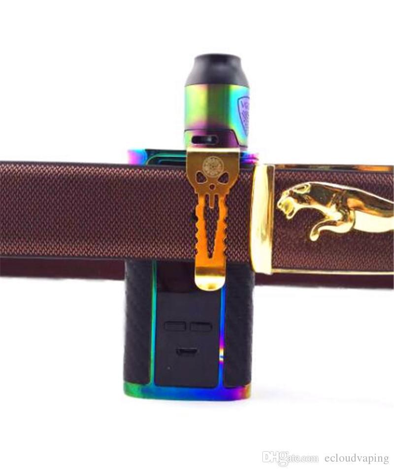Original Vape Gürtel-Clips Alienwalker Fit For All Vape Geräte stark und robust Edelstahl-Haken Alien Walker für E-Zigarette Mods