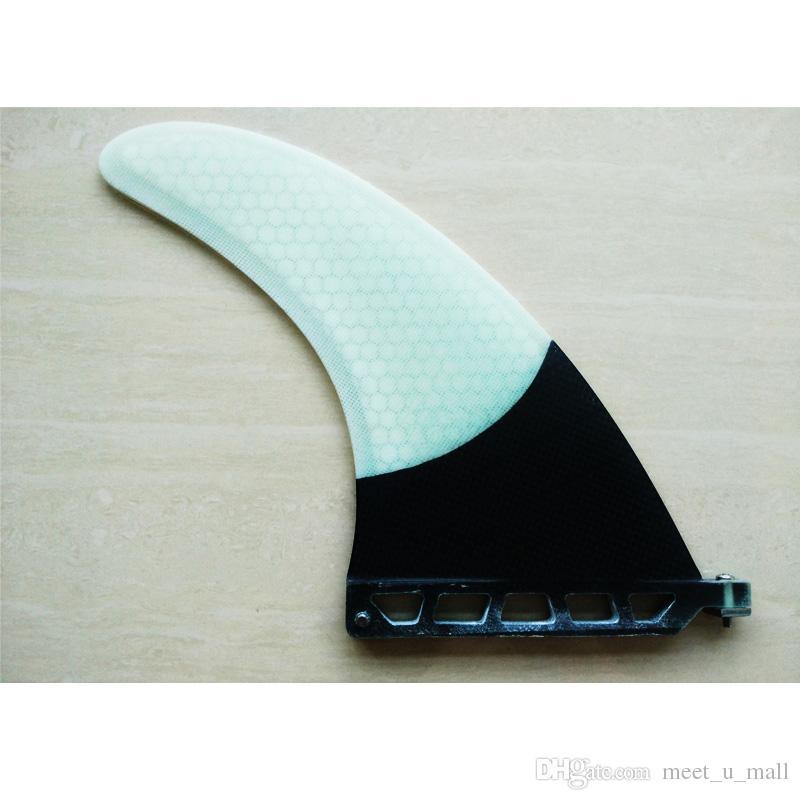 Support de nageoire de planche de surf à aileron simple de 8 pouces