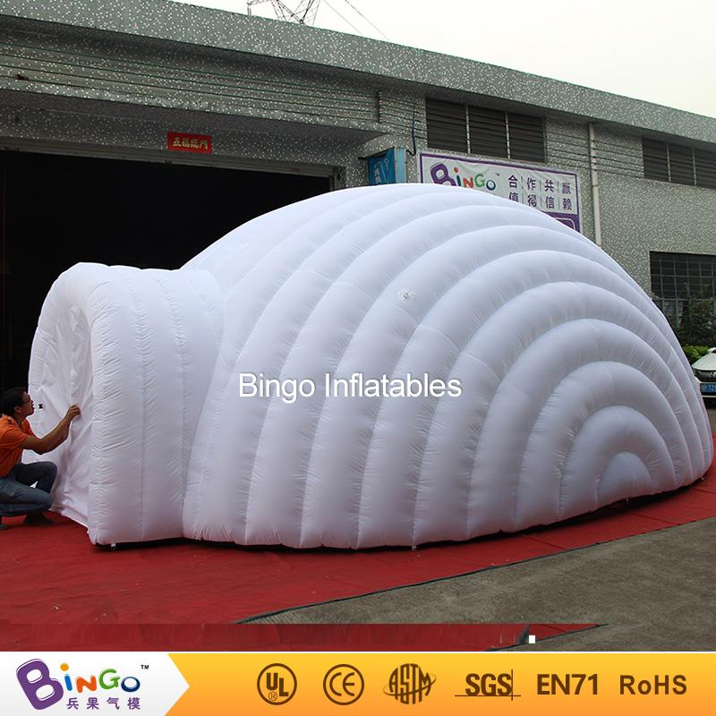 2016 Outdoor Inflatable Igloo Tent White Inflatable Shell TentInflatable Air Dome BINGO Factory Direct Sale BG A1191 Toy Tent Tent With Balls Baby Tent ... & 2016 Outdoor Inflatable Igloo Tent White Inflatable Shell Tent ...